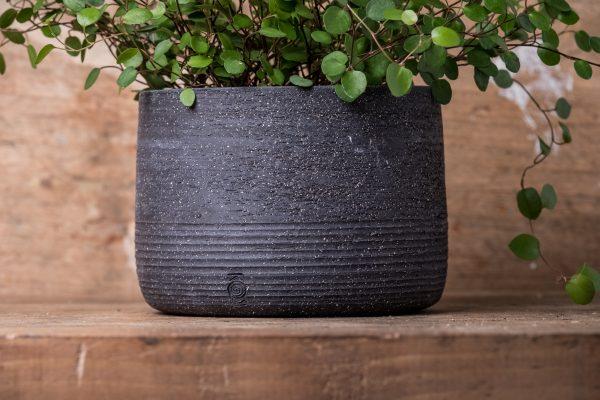Black Planter Kafé Keramiek